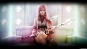 Lightning Final Fantasy XIII by LadySapphires
