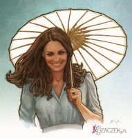 Kate Middleton by bullsik