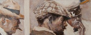 Study of Dean Cornwell's Some Necktie Lady by JonCPool