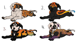 Lil Halloween Bully Puppies - CLOSED by Esaki