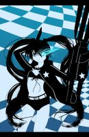 Black rock Shooter by raidenokreuz76