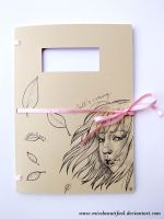 Hand made sketch book by missbeautifool