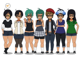 Different appearances, Same name by C4PNshota