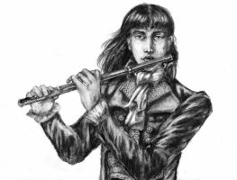 """""""He played on the flute..."""" by ColonelDespard"""