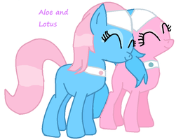 Aloe and Lotus by TheFluffyFoxeh