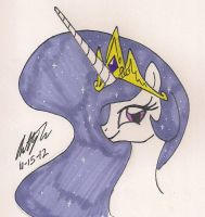 Princess Molestia by newyorkx3