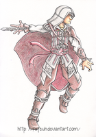 Ezio Auditore by Fayeuh