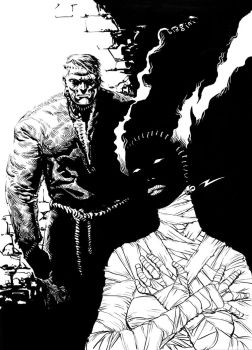 Alienguts: Frankenstein resurrected by francesco-biagini