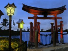 Epcot Japan Speed Paint by Senshisoldier