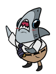 Mr. Manager the Shark by The-Devils-Corpse