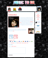 Music To Us - Site Design by skeddles