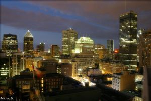 Montreal Night by Schuma