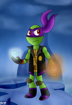 Shadow Hunter Donatello by yipkarhei2001
