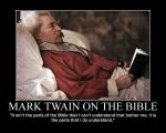 Mark Twain on the Bible by fiskefyren
