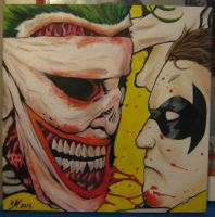 Joker and Robin by Synbag
