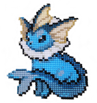 134 - Vaporeon by Devi-Tiger