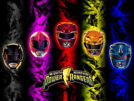 MMPR 2010 wallpaper by scottasl