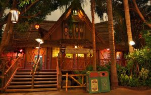 Adventureland Anaheim Enchanted Tiki Room by Futaba2