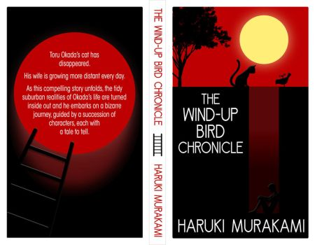 The Wind Up Bird Chronicle Book Cover by PixiRivets