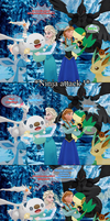 MMD Frozen-PKMN Comic - Jealousy and truth by JackFrostOverland