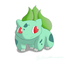 Bulbasaur by hairykoopa