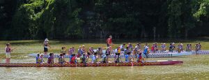 3 Dragon Boats by OhioErieCanalGirl
