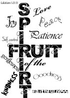 Fruit of the Spirirt by missiet
