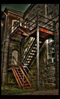 Fire Escape by shuttermonkey