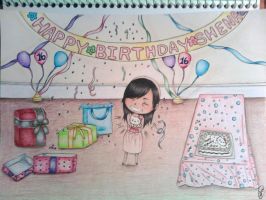 Happy Birthday Shena by CoolFroggy90