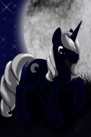 Re moonlight shadow by Emerald-Glaceon