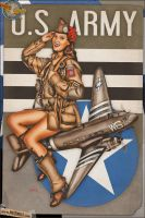 Pinups - US Army Skytrain/Paratroopers by warbirdphotographer