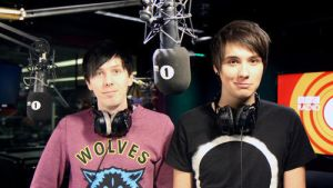 Dan And Phil by MeryHeartless