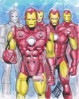 iron man AP from the bronze age card set. by refineib73