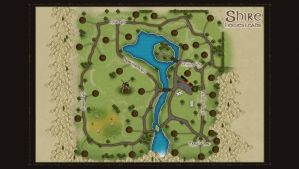 homestead in the Shire map by LotROLaurelin
