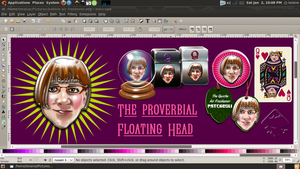 Proverbial Floating Head by QuicheLoraine