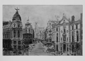 Madrid 1910 by wyldin