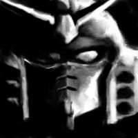 Generic Gundam Head by ScratchedCanvas