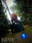 Merida cosplay - Will o' the wisp by onlycyn