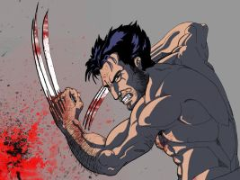 Wolverine color by Mercvtio