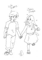 Prompt: Lyle and Severn by Divine-Nataku