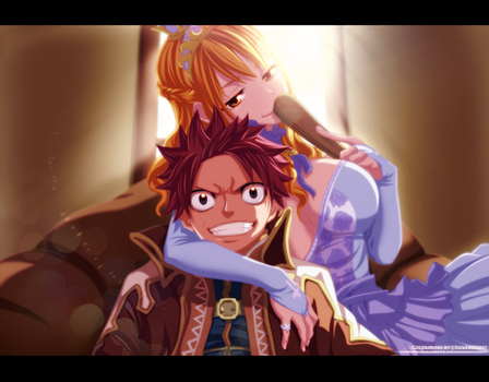 Fairy Tail - Natsu and Lucy by SilverCore94