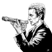 The Twelfth Doctor 2 (2015) Inks by SteveAndrew