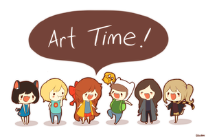 Art Time by Zel-Duh