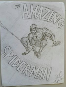 'The Amazing Spider-man' Sketch by zred99