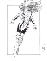 Rogue Commission Inks by MichaelPowellArt