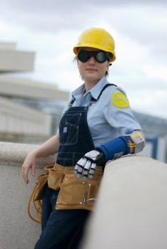 Gunslinger Engineer Cosplay by Bat-chan