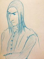 Snape Doodle 82 by dragoon811