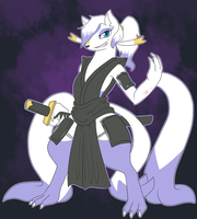 Swordsgirl Mienshao? by ShadowScarKnight