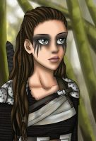 Lexa - The 100 by yryahuln