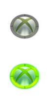 Xbox Glowing Start Orbs by jeffrockr